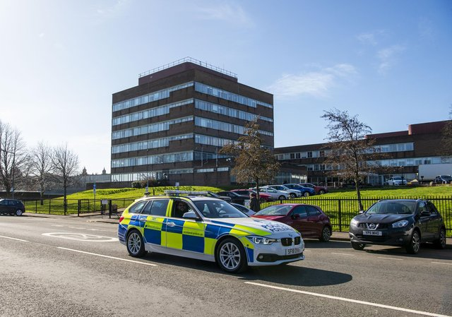 The former police headquarters at Fettes could be sold this year.