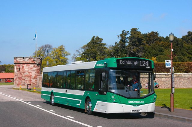Drivers at East Coast Buses are paid over £3 less per hour than colleagues working for the main company