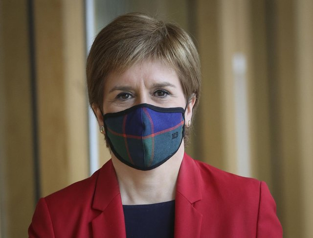 First Minister Nicola Sturgeon will give an update at 12.15pm on Friday, May 21. (Photo by Andy Buchanan - WPA Pool/Getty Images)