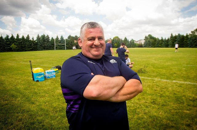 Massimo Cuttitta was a much loved figure during his time in Scottish rugby. Picture: Craig Watson/SNS