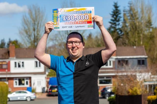 Winner Anthony Clarke will put cash towards his wedding