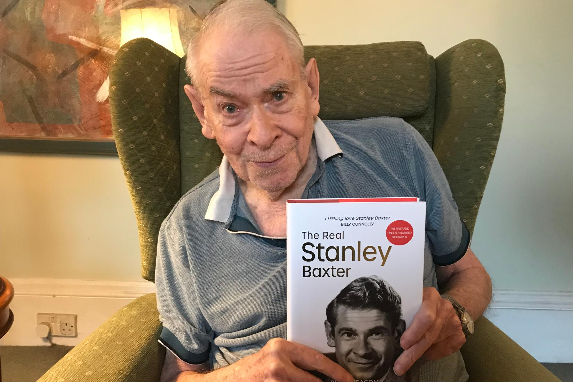 Actor Stanley Baxter comes out as gay in new book lifting the lid on his troubled private life
