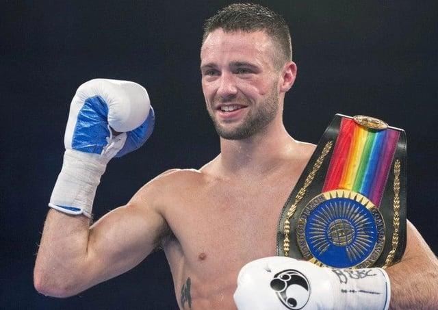 World champ Josh Taylor