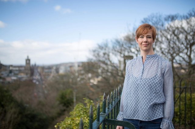 Green councillor Claire Miller has published an amendment calling for the Lanark Road project to be reviewed. Picture: JPIMedia