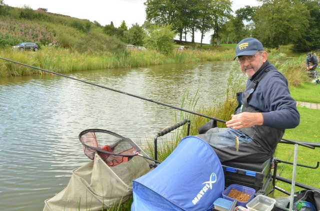Canal fishing is becoming increasingly popular.