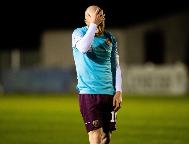 Hearts lost to Brora Rangers of the Highland League. Picture: SNS