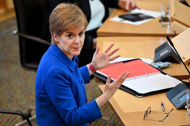 Nicola Sturgeon announced a raft of new measures to curb the spread of coronavirus (Getty Images)