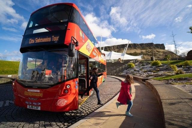 Three signature city tours, City Sightseeing, Majestic and the Edinburgh Tour,resumed on Friday, April 30.