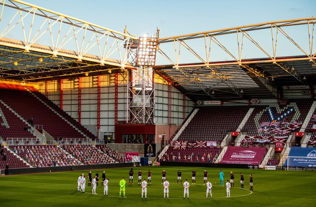 Live coverage of the Championship clash between Hearts and Alloa Athletic. Picture: SNS