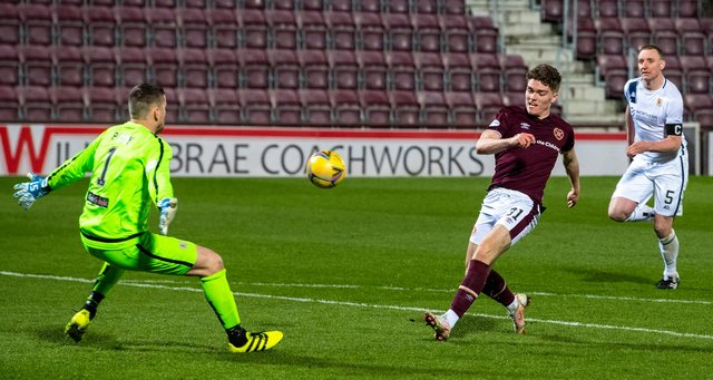 Euan Henderson finished a quite sumptuous pass from Peter Haring. Picture: SNS