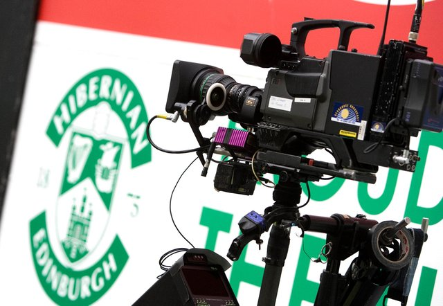 The Premiership clash between Hibs and Dundee has been moved for TV. Picture: SNS