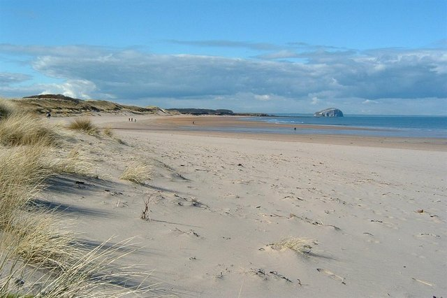 Tyninghame Beach is a magnet for visitors