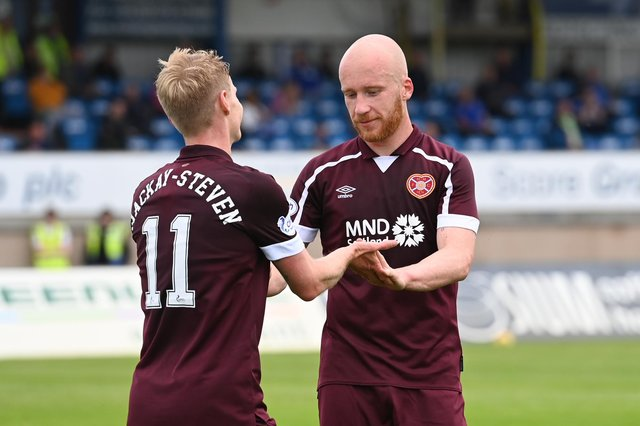 How the Hearts players rated in win over Peterhead. (Photo by Paul Devlin / SNS Group)