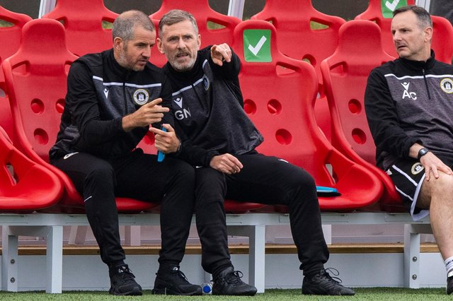 Stevie Crawford was assisting Edinburgh City boss Gary Naysmith during Friday's Premier Sports Cup against Hamilton Academical at Ainslie Park.
