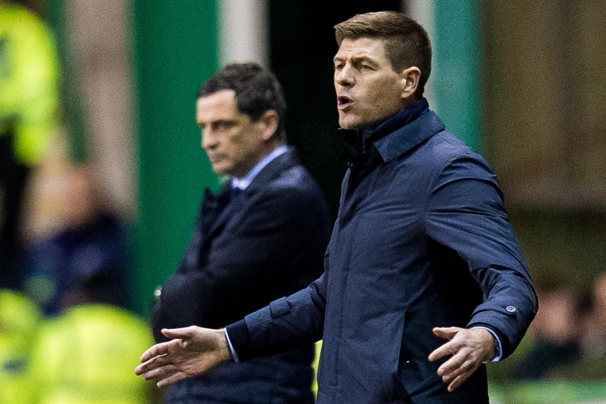 Hibs v Rangers: Steven Gerrard wary of threat from 'in-form' Easter Road side as he gives injury update