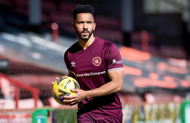 Shay Logan would be keen to extend his deal at Tynecastle. Picture: SNS