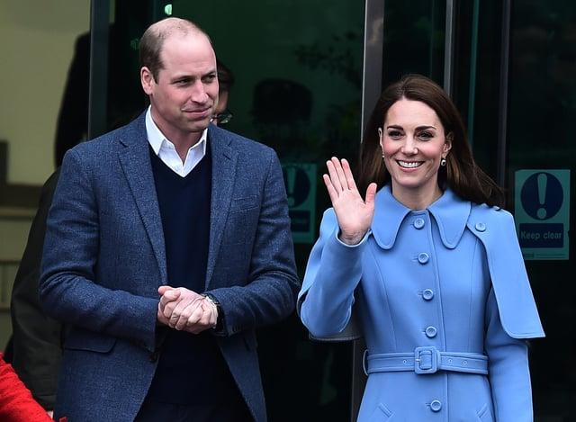 Prince William, Duke of Cambridge and Catherine, Duchess of Cambridge are in Scotland next week