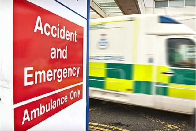 Scotland's A&E numbers are at their highest for almost two years.