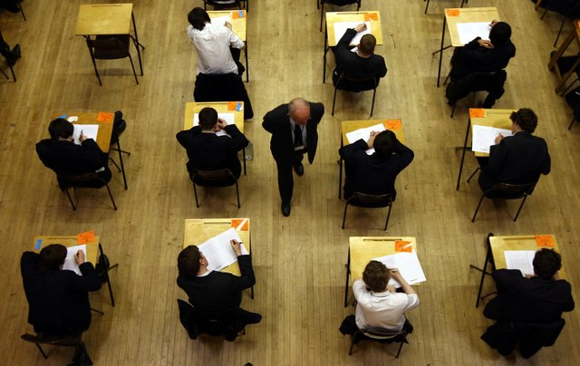 School pupils have missed two years' worth of exam assessments due to Covid 19. Picture: PA