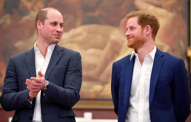 Rumours of a 'rift' between William and Harry have circulated for years (Getty Images)
