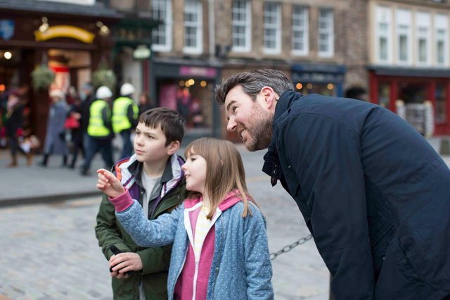 Locals are being invited back to rediscover the beauty and magic of Scotland's Capital city