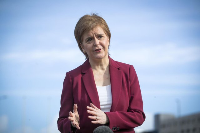 Nicola Sturgeon said vaccine passports could be considered for the future.