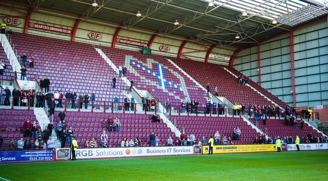 Like all football clubs, Hearts are eager to welcome fans back to matches.