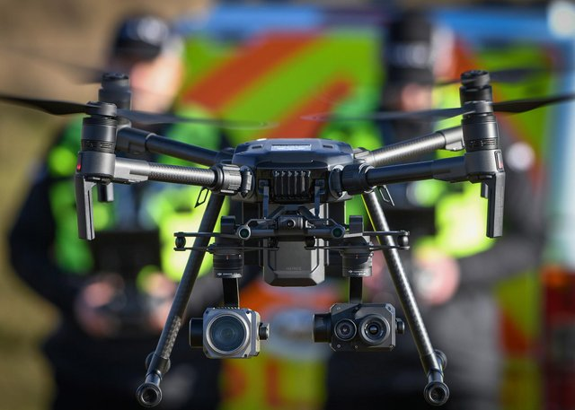 Police Scotland operates seven drones from Aberdeen, Glasgow and Inverness. Picture: Police Scotland