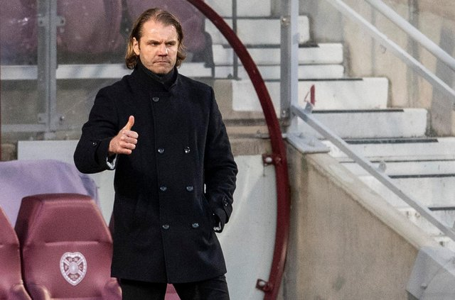Robbie Neilson is keen to get the size and age of the squad down next season. Picture: SNS