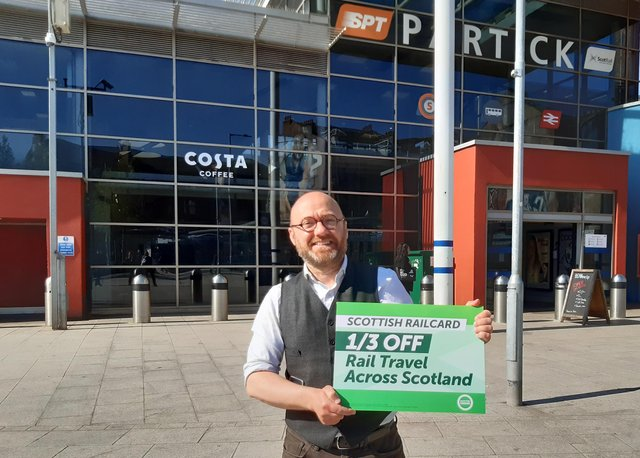 Scottish Greens co-leader Patrick Harvie said free bus travel would pay for itself. Picture: The Scotsman