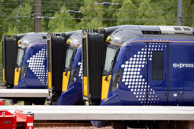 ScotRail's fleet of 70 class 385 trains run on routes across the Central Belt. Picture: Ross Brownlee/SNS Group