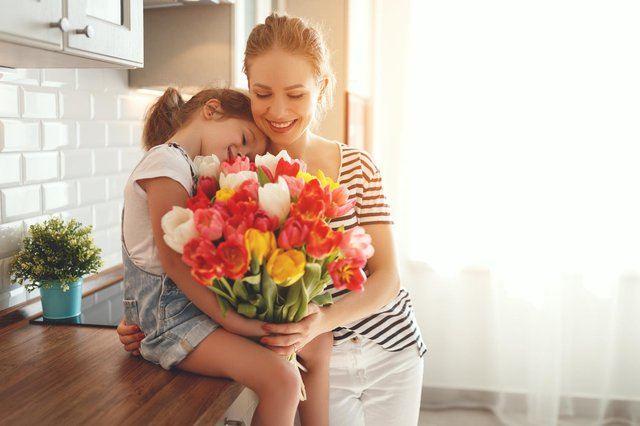 A bouquet of flowers is a popular gift for mums on Mother's Day. (Pic: Shutterstock)