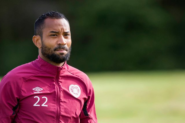 Hearts midfielder Loic Damour wants to play regularly.