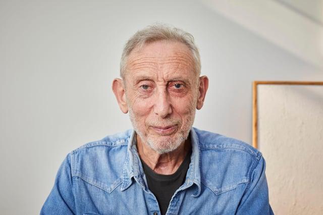 Michael Rosen spent six weeks on a ventilator after contracting coronavirus.  Photograph by: David Levene