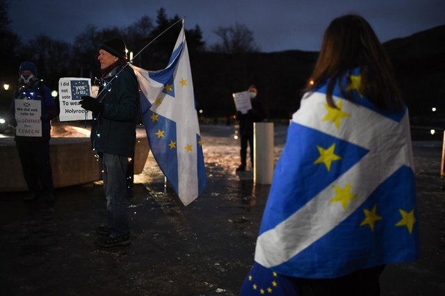 Tommy Sheppard MP is calling for an extension to the deadline for EU citizens in Scotland to apply for settled status. PIC: Jeff J Mitchell/Getty.