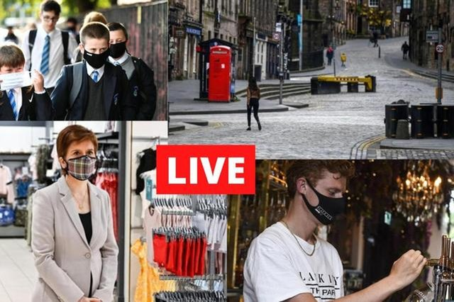 Live updates on Covid-19 from Scotland, the UK, and around the world.