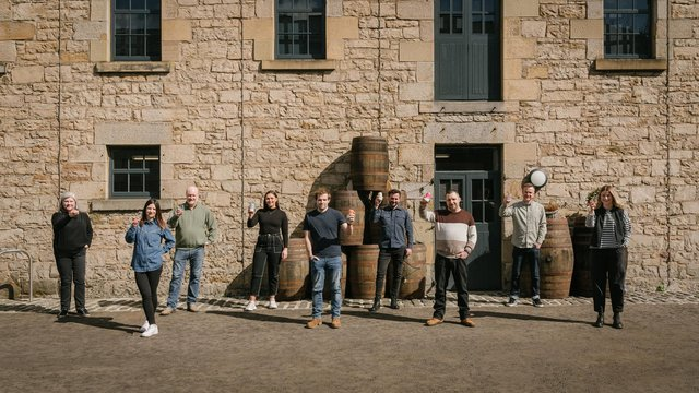 The team at Holyrood Distillery have been preparing to welcome back visitors to their courtyard - with a brand new tipple on offer