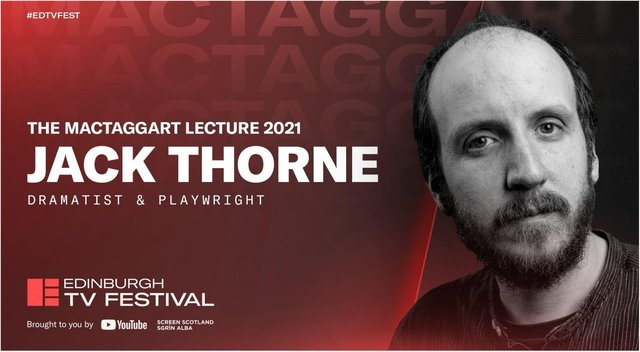 """Jack Thorne is to deliver the prestigious MacTaggart lecture and draw attention to the """"glaring problem"""" of the treatment of disabled people."""