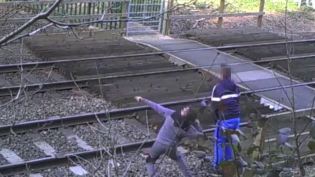 An average of one person encroaches on the tracks every hour, according to Network Rail and British Transport Police. (Photo: British Transport Police/PA Wire)