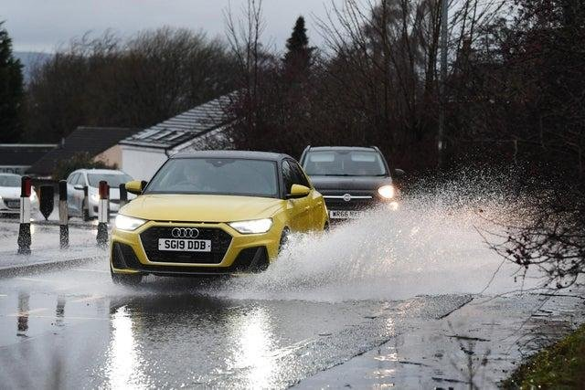 The Scottish Environment Protection Agency (SEPA) said any flooding impacts are most likely to include flooding to low-lying land and roads and individual properties.