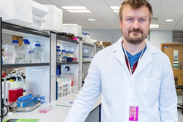 Dr Carsten Hansen wants to see a return to groundbreaking lung cancer research.
