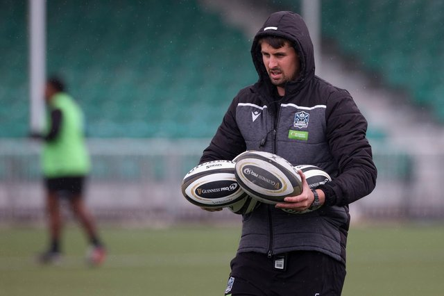Glasgow Warriors assistant coach Peter Murchie will be part of the Scotland coaching team this summer. Picture: Craig Williamson/SNS