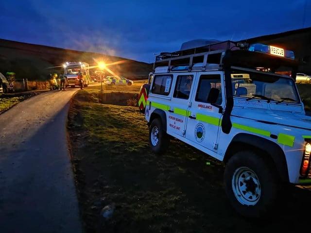 Photo: Border Search and Rescue Unit