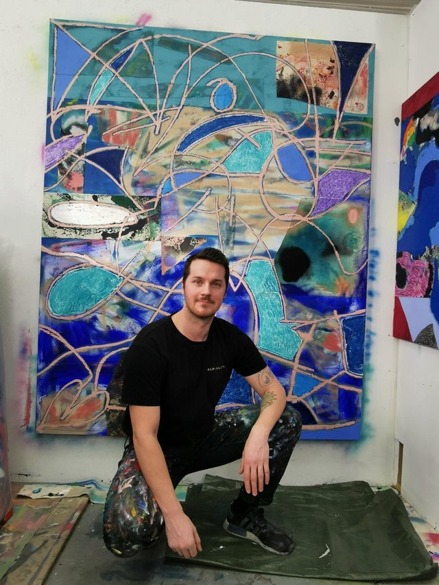 Glasgow-based artist David Iain Brown has sold 12 artworks as NFTs since turning to the new format almost two weeks ago