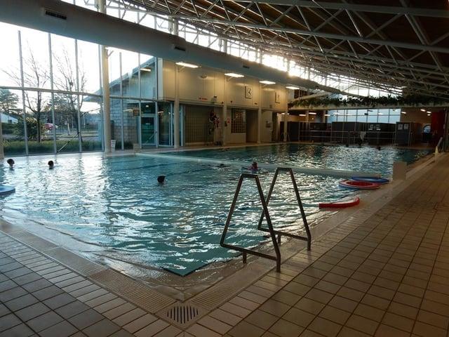North Berwick leisure centre pool