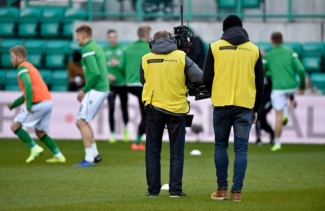 Hibs' Scottish Cup clash with Motherwell will be shown on Premier Sports. Picture: SNS