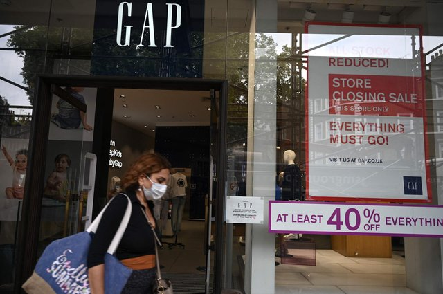 Gap is closing its 81 stores in Britain and Ireland to focus on online retail