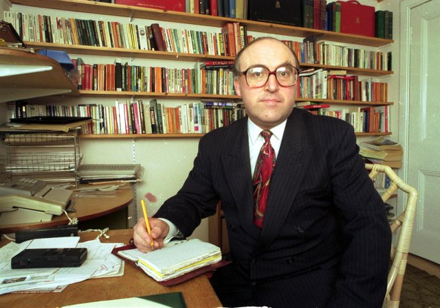 Yesterday was the 27th anniversary of the death of Ian Murray's political hero, John Smith. Picture: JPIMedia