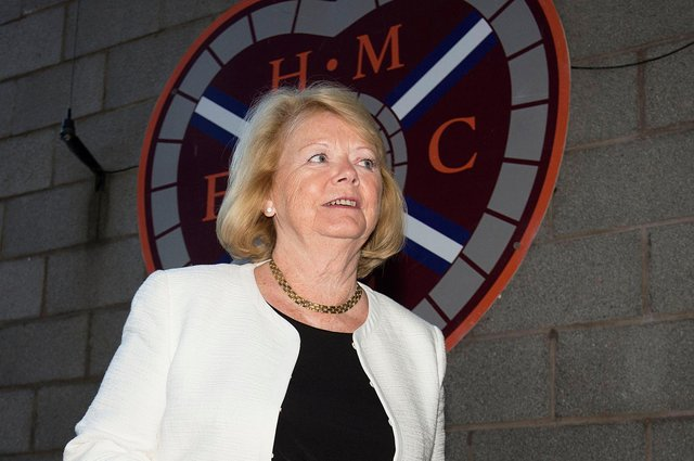 Hearts owner Ann Budge has held talks with manager Robbie Neilson and sporting director Joe Savage.