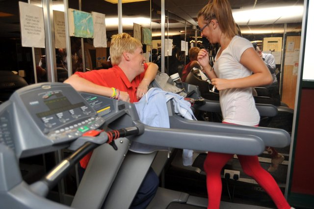 Hayley Matthews is planning to put in some miles on a treadmill after joining a gym